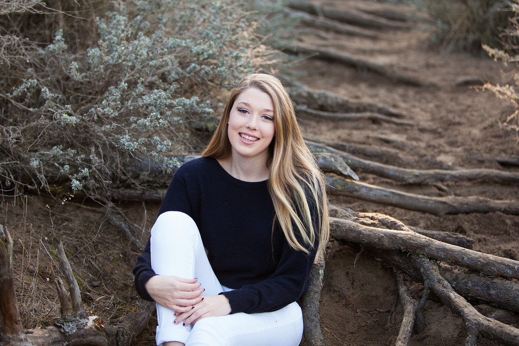 baker beach senior session