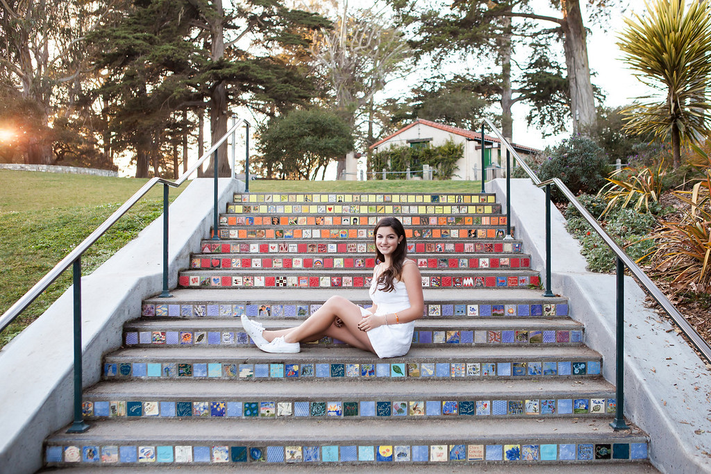 san francisco senior portrait